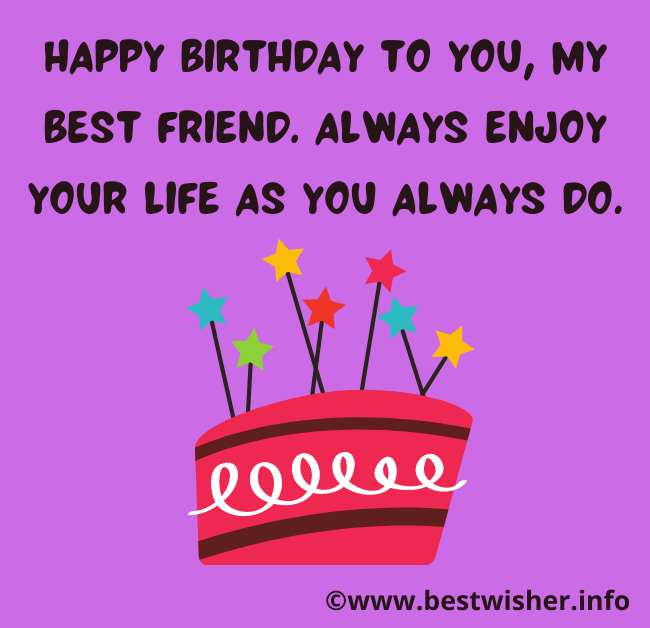 touching birthday message to a best friend (1)