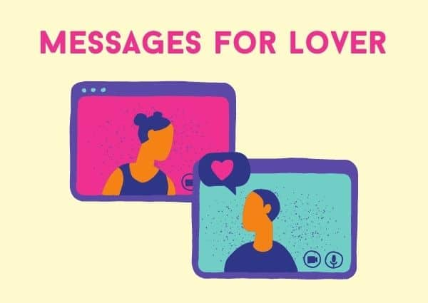 Message for lover