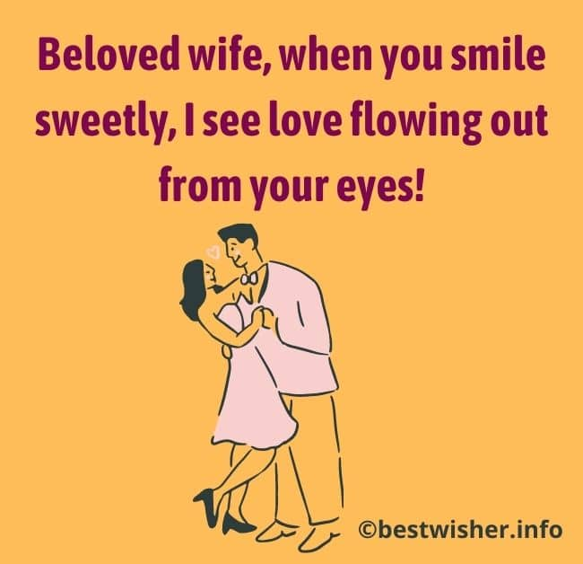 love note to wife