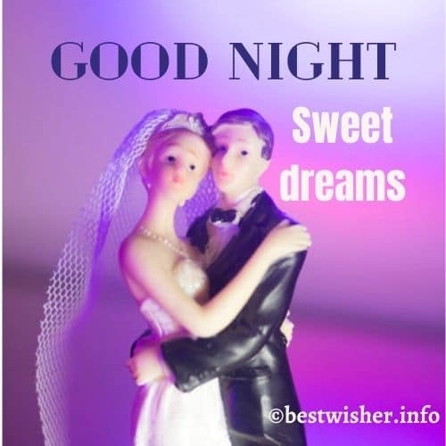 Goodnight sweet dreams with cute doll pic
