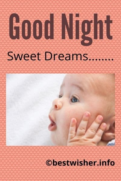 sweet dreams with cute baby image